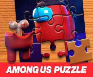 Among Us Jigsaw Puzzle Planet