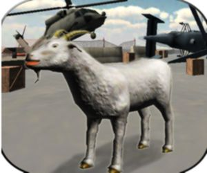 Angry Goat Wild Animal Rampage Game 2020