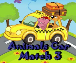 Animal Cars Match 3