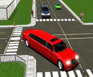 Big City Limo Car Driving 3d