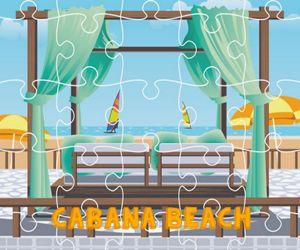 Cabana Beach Jigsaw