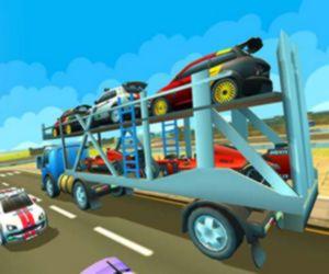 Cargo Euro Truck Drive Car Transport New