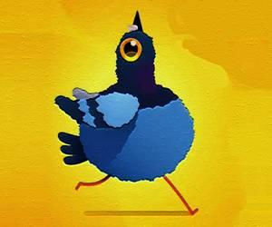 Cartoon Pigeon Jigsaw