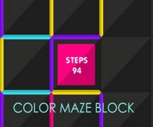 Color Maze Block