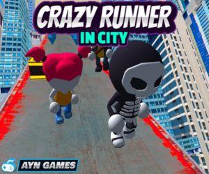 Crazy Runner In City