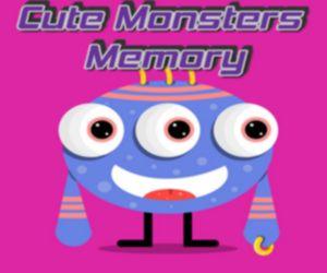 Cute Little Monsters Memory