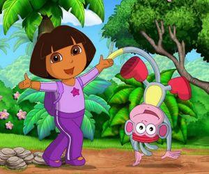 Dora - Find Seven Differences
