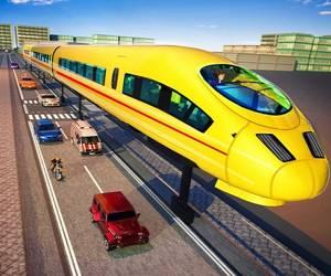 Euro Train Simulator Game 3d