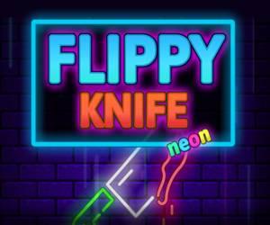 Flippy Knife Neon
