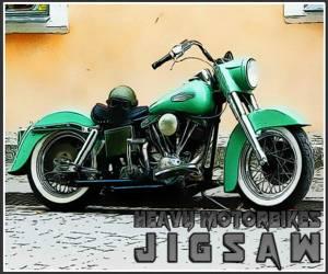 Heavy Motorbikes Jigsaw