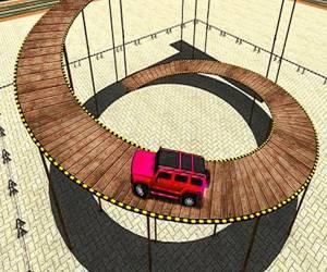 Impossible Tracks Prado Car Stunt Game