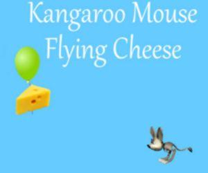 Kangaroo Mouse Flying Cheese