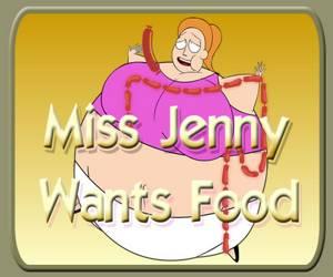Miss Jenny Wants Food