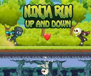Ninja Run Up And Down