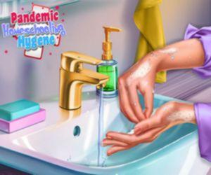 Pandemic Homeschooling Hygene