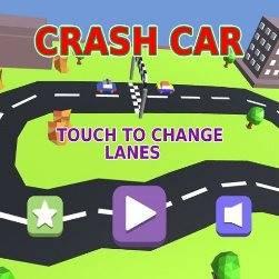 Pixel Circuit Racing Car Crash