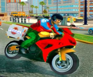 Pizza Delivery Boy Simulation Game