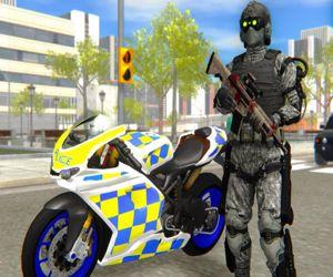 Police Bike City Simulator