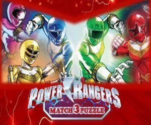 Power Rangers Match 3 Puzzle