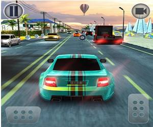 Road Racing: Highway Car Chase