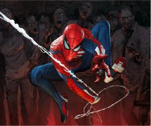 Spiderman Vs Zombie