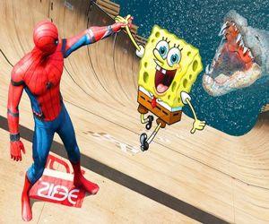 Super Spongebob Spiderman
