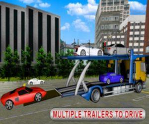 Trailer Cargo Truck Offroad Transporter