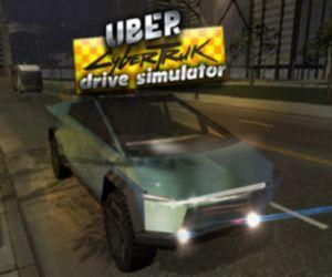Uber Cybertruck Drive Simulator