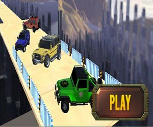 Uphill Mountain Jeep Drive 2k20