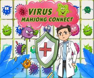 Virus Mahjong Connection