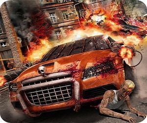Zombie Dead Highway Car Race Game